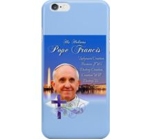 Pope Francis Headshot 4 iPhone Case/Skin