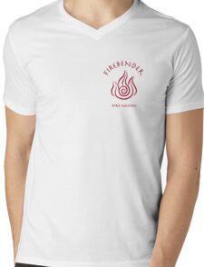 Firebending Mens V-Neck T-Shirt