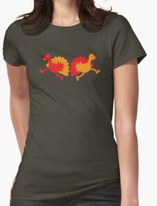 Two red and orange Turkies T-Shirt