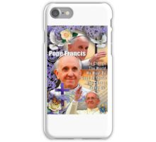 Pope Francis Headshot 5 iPhone Case/Skin