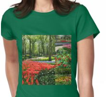 A Dutch Spring Collage Womens Fitted T-Shirt