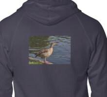 Egyptian Goose in St James Park, London, UK Zipped Hoodie