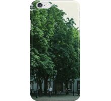 Cathedral Square Basel Switzerland 19840629 0004 iPhone Case/Skin
