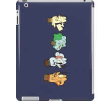 pokemon chibi charmander pikachu squirtle bulbasaur anime manga shirt iPad Case/Skin