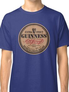 Old Style Guinness Logo - David Gilmour Classic T-Shirt