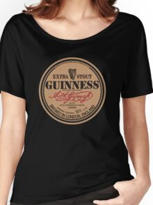 Old Style Guinness Logo - David Gilmour Women's Relaxed Fit T-Shirt