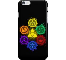 Legend of Zelda - Ocarina of Time - The 6 Sages iPhone Case/Skin