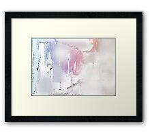 snow dune Framed Print