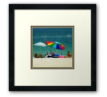 Colors Of Summer ~ Part Four Framed Print