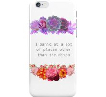 Panic At Other Places iPhone Case/Skin