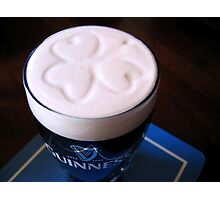 How Guinness should be served... Photographic Print