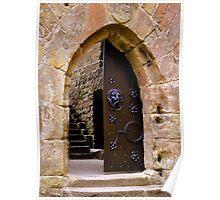 The Door at Castle Beaufort Poster