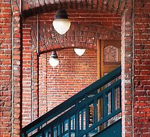 Stairwells by Mike Hendren