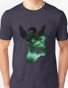 pokemon space leafeon eevee anime manga shirt T-Shirt