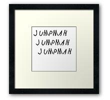 Jumpman Drake Framed Print