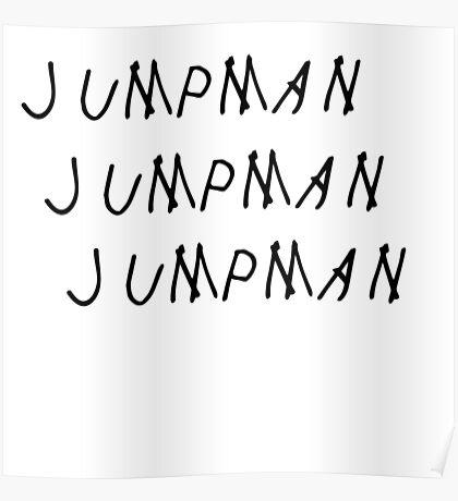 Jumpman Drake Poster