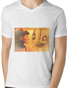 In the Mirror Mens V-Neck T-Shirt