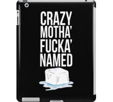 Ice Cube White iPad Case/Skin