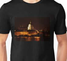 St Paul's By Night (London, UK) Unisex T-Shirt