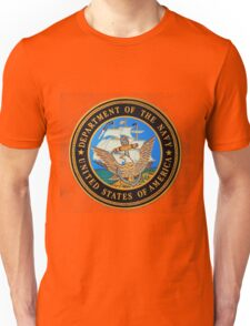 Seal of the US Navy Unisex T-Shirt