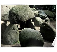Hunebed Stones Poster
