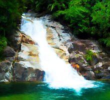 20090330 - Waterfall by artz-one