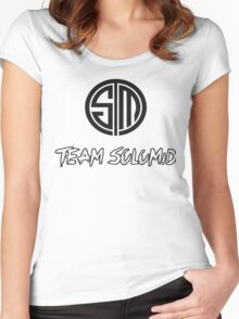 Team SoloMid TSM Women's Fitted Scoop T-Shirt