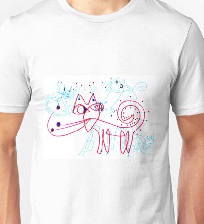 SNOW KITTENS Unisex T-Shirt