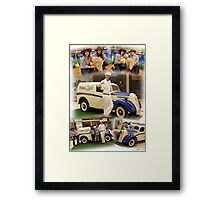 The PURA Milk Team - Hobart Tasmania Framed Print