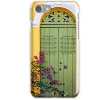 San Juan doorway iPhone Case/Skin