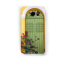 San Juan doorway Samsung Galaxy Case/Skin