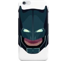 batman vs superman mask iPhone Case/Skin