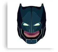 batman vs superman mask Canvas Print