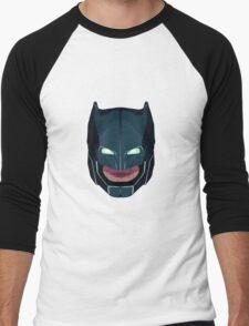 batman vs superman mask Men's Baseball ¾ T-Shirt