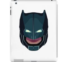 batman vs superman mask iPad Case/Skin