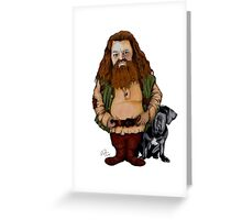 WIZARD FROM HP WORLD Greeting Card