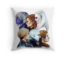 Women of Defiance Throw Pillow