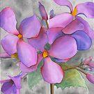 Purple Cluster by Ken Powers