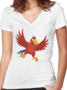 Iago Women's Fitted V-Neck T-Shirt