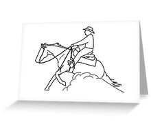 Reining Rulers Greeting Card