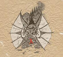 Ink Dragon by Jonathan  Woodyard
