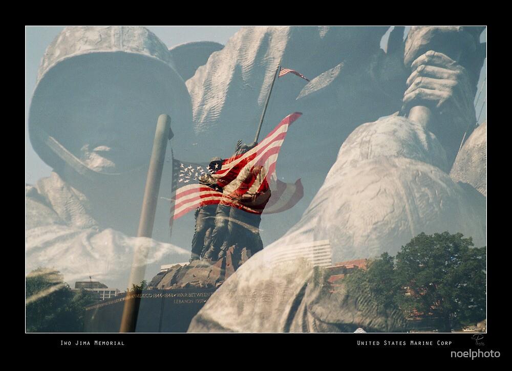 Iwo Jima Memorial by noelphoto