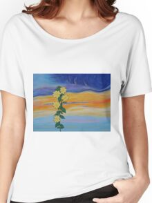 Evening Primrose at Sunset Women's Relaxed Fit T-Shirt