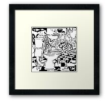 Team Of Monkeys Plumbers Framed Print