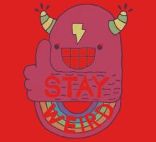 STAY WEIRD! One Piece - Short Sleeve