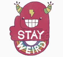 STAY WEIRD! One Piece - Long Sleeve
