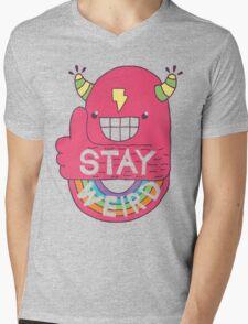 STAY WEIRD! Mens V-Neck T-Shirt