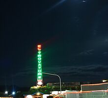 Motel in the moonlight by stlmoon