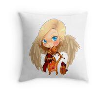 Kayle Chibi Throw Pillow