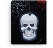Rick Eddie Bones Canvas Print